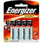 Energizer Max E91/aa Pack of 4