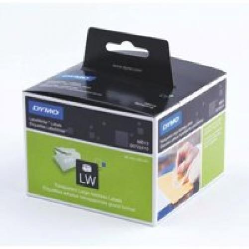 Dymo LabelWriter Large Address Labels Clear Plastic 36 X