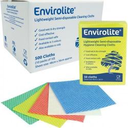 Cheap Stationery Supply of Envirolite Folded Cleaning Cloth Large (48x36cm) Yellow Pack 50 59193EC Office Statationery