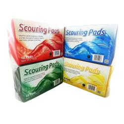 Cheap Stationery Supply of Scouring Pads Large (23x15) GN PK10 Office Statationery