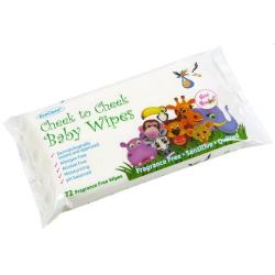 Cheap Stationery Supply of EcoClenz Sensitive Baby Wipes Fragrance Free Flowpack of 60 59592EC Office Statationery