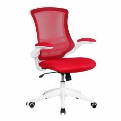 Cheap Stationery Supply of Luna Wh Frame Designer Mesh Chair Rd Office Statationery