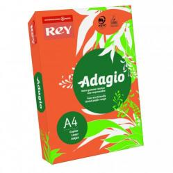 Cheap Stationery Supply of Rey Adagio Paper A4 80gsm Deep Orange Ream 500 Office Statationery