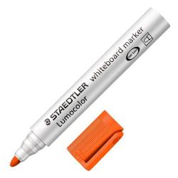 Cheap Stationery Supply of Staedtler 351 Lumocolor Whiteboard Marker Orange Pack of 10 Office Statationery