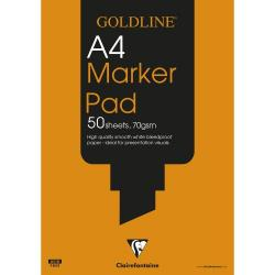 Cheap Stationery Supply of Goldline Bleedproof Marker Pad A4 Gpb1a4z Office Statationery