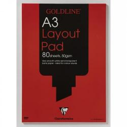 Cheap Stationery Supply of Goldline Layout Pad Bank Paper 50gsm 80 Pages A3 Code Gpl1a3 Office Statationery