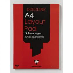 Cheap Stationery Supply of Goldline Layout Pad Bank Paper 50gsm 80 Pages A4 Code Gpl1a4 Office Statationery