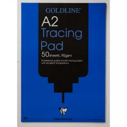 Cheap Stationery Supply of Goldline Professional Tracing Pad 90gsm 50 Sheets A2 Office Statationery