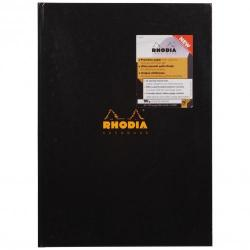 Cheap Stationery Supply of Rhodia A4 Casebound Hard Cover Notebook Ruled 192 Pages Pack 3 119230c Office Statationery