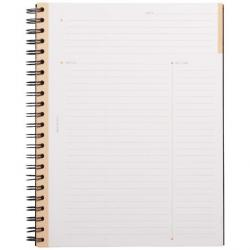 Cheap Stationery Supply of Rhodia A4 Wirebound Hard Cover Meeting Notebook Recycled Ruled 160 Pages Black Pack 3 Office Statationery