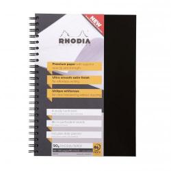 Cheap Stationery Supply of Rhodia Business Book A4 Hardback Wirebound 119232c - Pack of 3 Office Statationery