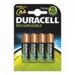 Duracell Plus Power Aa Rechargeable Batteries Pack of 4