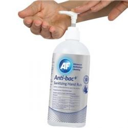 Cheap Stationery Supply of Af Antibacterial Sanitising Hand Rub 500ml Pack of 6 Office Statationery