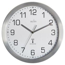 Cheap Stationery Supply of Acctim Mason Rc Wall Clock 25cm Alu Office Statationery