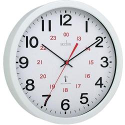 Cheap Stationery Supply of Acctim Controller Wall Clock Rc Wh Office Statationery