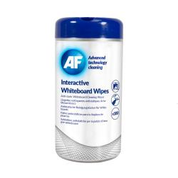 Cheap Stationery Supply of Af Interactive Whiteboard Wipes Tub Of 100 Office Statationery