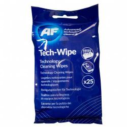 Cheap Stationery Supply of Af Tech Wipes Flat Pack Pack of 25 Office Statationery