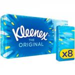 Kleenex Original Pocket Pack 8s Pack of 18