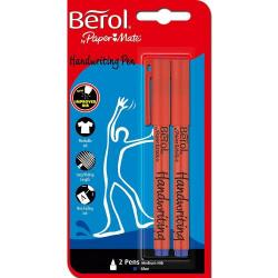 Cheap Stationery Supply of Berol Handwriting Pen BK PK2 Office Statationery