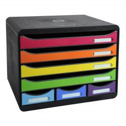 Cheap Stationery Supply of Exacompta The Store Box Mini 7 Drawers Harlequin 73858EX Office Statationery