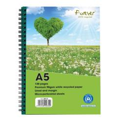 Cheap Stationery Supply of Forever Notebook A5 Green PK10 Office Statationery