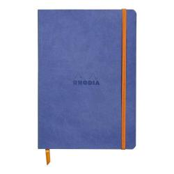 Cheap Stationery Supply of Rhodiarama A5 Soft Cover Casebound Notebook Ruled 160 Pages Sapphire Blue Bogof Office Statationery
