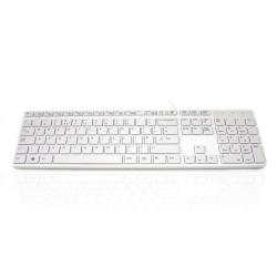 Cheap Stationery Supply of Accuratus 301 USB White Keyboard Office Statationery