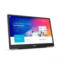 Cheap Stationery Supply of AOC 16T2 15.6in IPS HDMI USB C Monitor Office Statationery