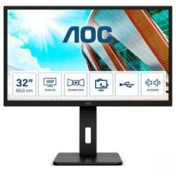 Cheap Stationery Supply of AOC Q32P2 31.5in IPS HDMI DP USB Monitor Office Statationery