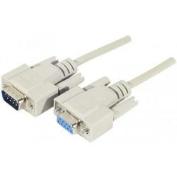 Cheap Stationery Supply of Exc 1.8m Db9 To Db9 Serial Cable White Mf Office Statationery