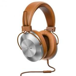 Cheap Stationery Supply of Pioneer SE MS5T Binaural Brown Headset Office Statationery