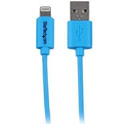 Cheap Stationery Supply of Startech 1m Blue Lightning To Usb Cable Office Statationery