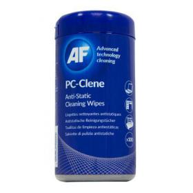 AF PC-Clene Cleaning Wipes Tub (Pack 100)