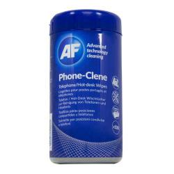 Cheap Stationery Supply of Af Phoneclene Hygenic Wipes Tub Of 100 Office Statationery