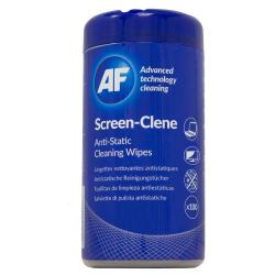 Cheap Stationery Supply of Af Screen-clene Wipes Tub 100 Office Statationery