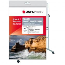 Cheap Stationery Supply of AGFA SILVER PHOTO PAPER A4  PK 50 Office Statationery