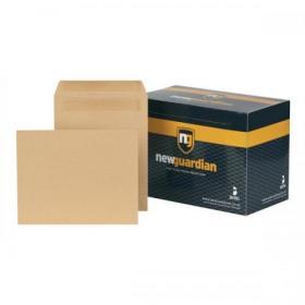 New Guardian Envelopes FSC Pocket Self Seal Heavyweight 130gsm 270x216mm Manilla Ref F26903 Pack of 250