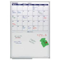 Cheap Stationery Supply of Franken Monthly Drywipe Planner 600x900mm Aluminium Frame VO-18 Office Statationery