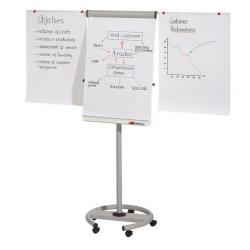 Cheap Stationery Supply of Franken Light Grey Pro Flipchart Deluxe Easel Mobile pack of 1 FC81 Office Statationery