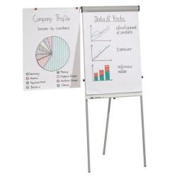 Cheap Stationery Supply of Franken Light Grey Pro Flipchart Deluxe Easel pack of 1 FC84 Office Statationery