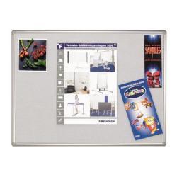 Cheap Stationery Supply of Franken Felt Pin Board Pro 90x120cm Grey PT830312 PT830312 Office Statationery