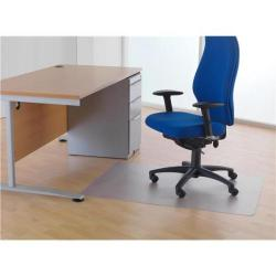 Cheap Stationery Supply of Cleartex Chairmat For Hard Floors 1200x900mm Clear Office Statationery