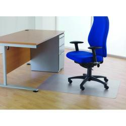 Cheap Stationery Supply of Cleartex Chair Mat For Hard Floors 1200x1500mm Clear Office Statationery