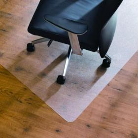 Cleartex Chair Mat Hard Floor 1200x750mm Clear FL74191