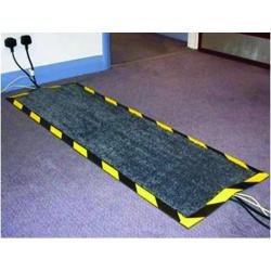 Cheap Stationery Supply of Floortex Kable Mat 400x1200mm Black FCKAB40120 Office Statationery