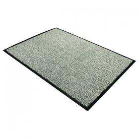 Doortex Dust Control Door Mat 900x1500mm Black/White 49150DCBWV
