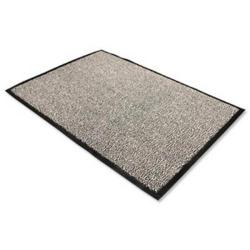 Cheap Stationery Supply of Doortex Dust Control Mat 60x180cm Storm Grey FC460180PPMR FC460180PPMR Office Statationery
