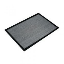 Cheap Stationery Supply of Doortex Hard-wearing Indoor Entrance Mat Grey FC46080VALGR Office Statationery