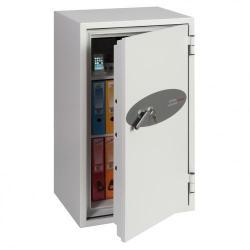 Cheap Stationery Supply of Phoenix Fire Commander FS1911K Size 1 Fire Safe with Key Lock Office Statationery