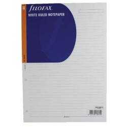 Cheap Stationery Supply of Filofax A4 Ruled Paper White 293008 Pack of 20 Office Statationery